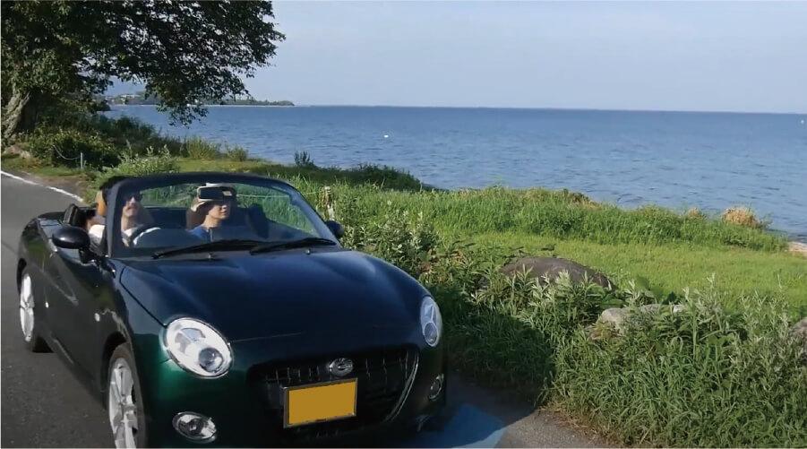 滋賀、近江舞子の格安レンタカー